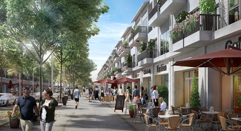 Khu phố thương mại dự án Eco Town