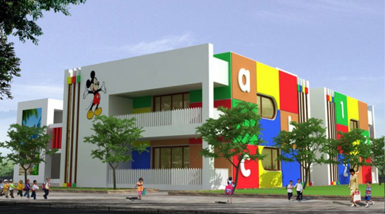 Trường mầm non trường tiểu học khu dự án Eco Town