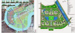 Quy hoạch 1/2000 là cơ sở để thực hiện quy hoạch 1/500 và xét duyệt giấy phép xây dựng cho dự án. Đồ họa: M.H